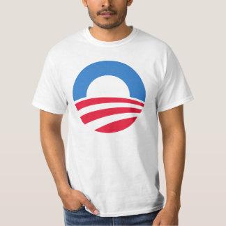 Camiseta 2012 del logotipo de Obama Playeras
