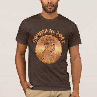 Camiseta 2012 del penique de Obama