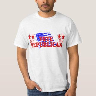 Camiseta 2012 del republicano del voto playera