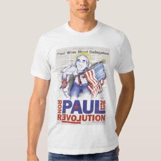Camiseta 2012 del super héroe de Ron Paul Playera