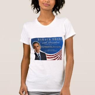 Camiseta 2013 de la inauguración de Barack Obama Poleras