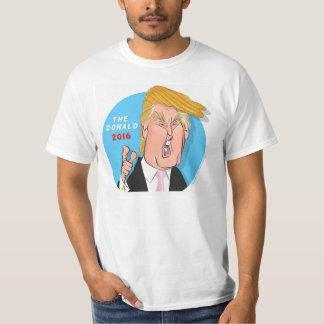Camiseta 2016 del presidente dibujo animado de playeras
