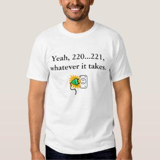 camiseta 220 221 remera