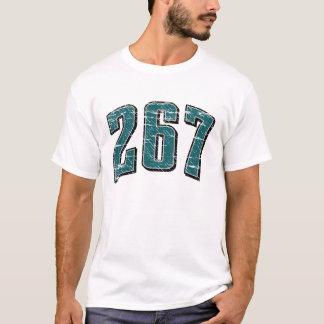 (camiseta 267 del código de área) playera