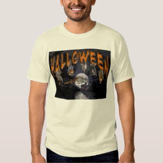Camiseta 2 del palo de Halloween Playera