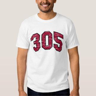 (camiseta 305 del código de área) playera