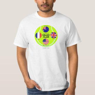 Camiseta 3 del Grand Slam del tenis Remeras