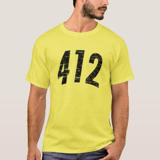 (camiseta 412 del código de área) playera