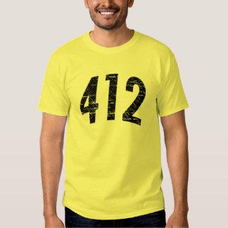 (camiseta 412 del código de área) polera