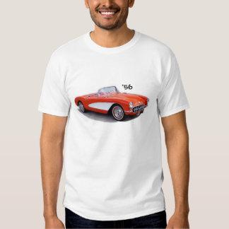 Camiseta 56 de Chevrolet Corvette Vette 1956 ' Playeras