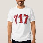(camiseta 717 del código de área) remera