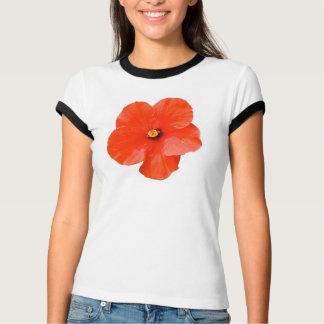 Camiseta abigarrada del campanero del hibisco