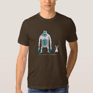Camiseta abominable del zombi de la nieve de MvZ Poleras