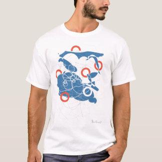 Camiseta abstracta de Suzukigo