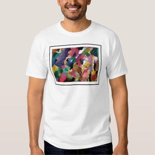 Camiseta abstracta playeras