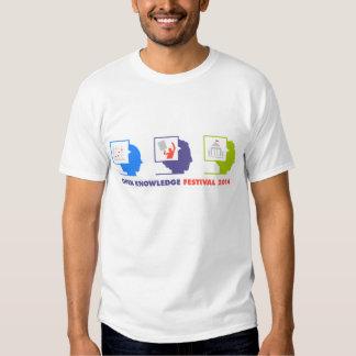 Camiseta ACEPTABLE 2014 del festival (hombres) Camisas