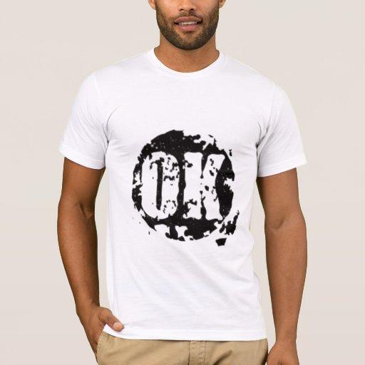 """Camiseta """"ACEPTABLE"""" del vintage"""