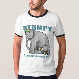 Camiseta achaparrada poleras
