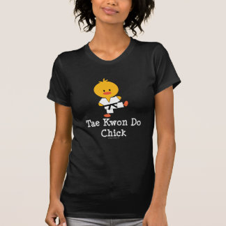 Camiseta acodada polluelo del Taekwondo