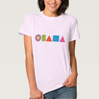 Camiseta acolchada de Obama Remeras