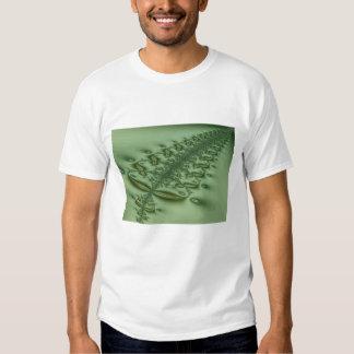 Camiseta acolchada del helecho remeras