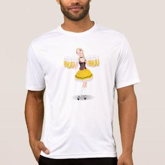 Camiseta activa para hombre de la cerveza de la
