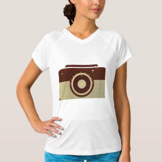 Camiseta activa para mujer de radio antigua camisas