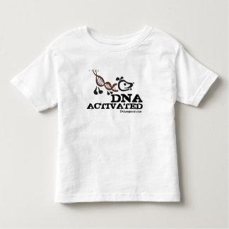 Camiseta ACTIVADA DNA del niño de la rociada