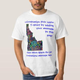 Camiseta adaptable colorida de la elección de polera