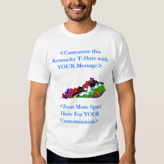 Camiseta adaptable de Kentucky - USTED modifica pa Playeras