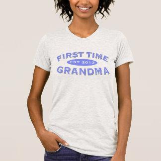 Camiseta adaptable de la abuela de la primera vez
