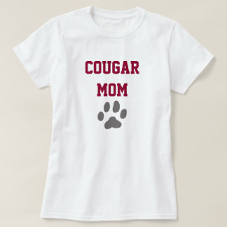 Camiseta adaptable de la mamá del puma