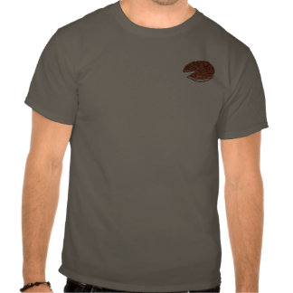 Camiseta adaptable de la pizza (frente/traseros)
