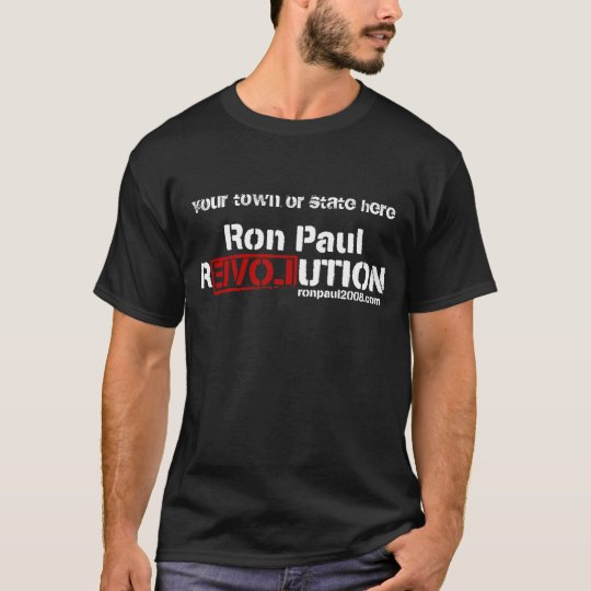Camiseta adaptable de la revolución de Ron Paul