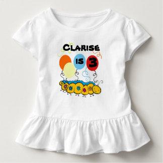 Camiseta adaptable del cumpleaños de Caterpillar