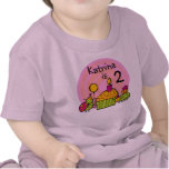 Camiseta adaptable del cumpleaños de la magdalena