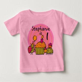 Camiseta adaptable del cumpleaños de la magdalena playera