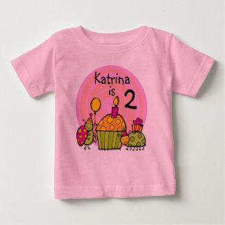 Camiseta adaptable del cumpleaños de la magdalena playeras