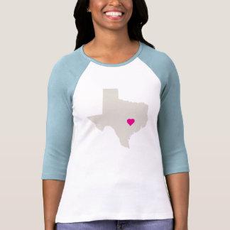 Camiseta adaptable del estado de Tejas Playera