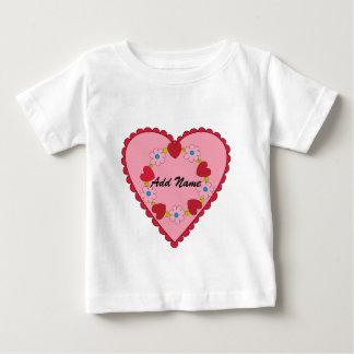 Camiseta adaptable del niño de la tarjeta del día