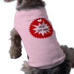 Camiseta adaptable del perro ropa perro