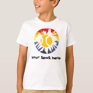 Camiseta adaptable del tenis