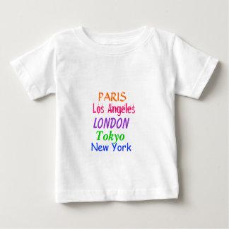 Camiseta adorable del bebé