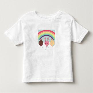 Camiseta adorable del conejito