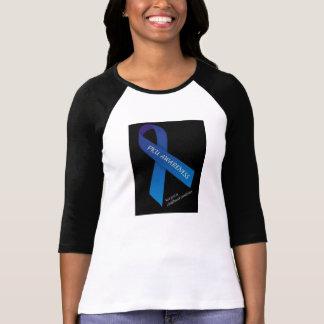 Camiseta adulta de la CINTA de PKU Poleras