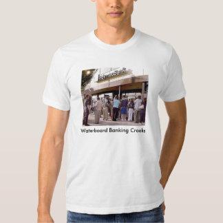 Camiseta adulta de los banqueros de Waterboard Poleras