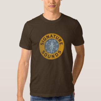 Camiseta adulta del compás remeras