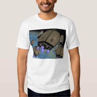 """Camiseta adulta grande """"crepuscular"""" inminente playeras"""