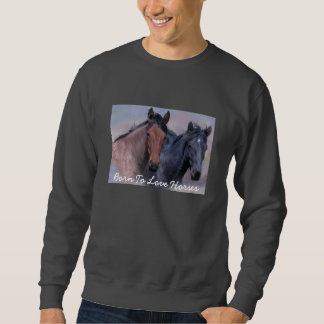 Camiseta adulta unisex de los caballos salvajes