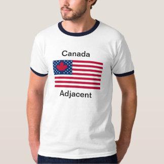 ¡Camiseta adyacente de Canadá!!!! Playera